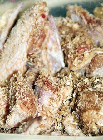 gà rang muối