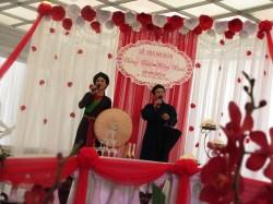 Hình ảnh lễ thành hôn được tổ chức tại Hoa An Viên
