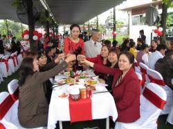 Tiệc cưới cặp đôi Thông Thái & Hồng Hạnh - Nhà hàng Hoa An Viên