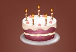 Tặng bánh kem cho khách hàng đặt tiệc sinh nhật tại Hoa An Viên