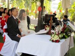 Tiệc cưới Ly Sam Ath - Bùi Thị Bình 01.01.2015
